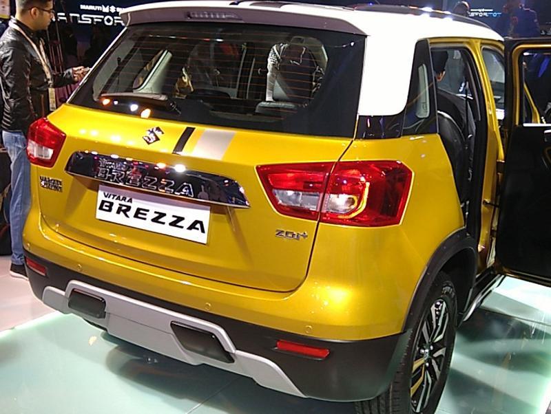 Maruti Suzuki Vitara Brezza Unmatched Features In Such Cost